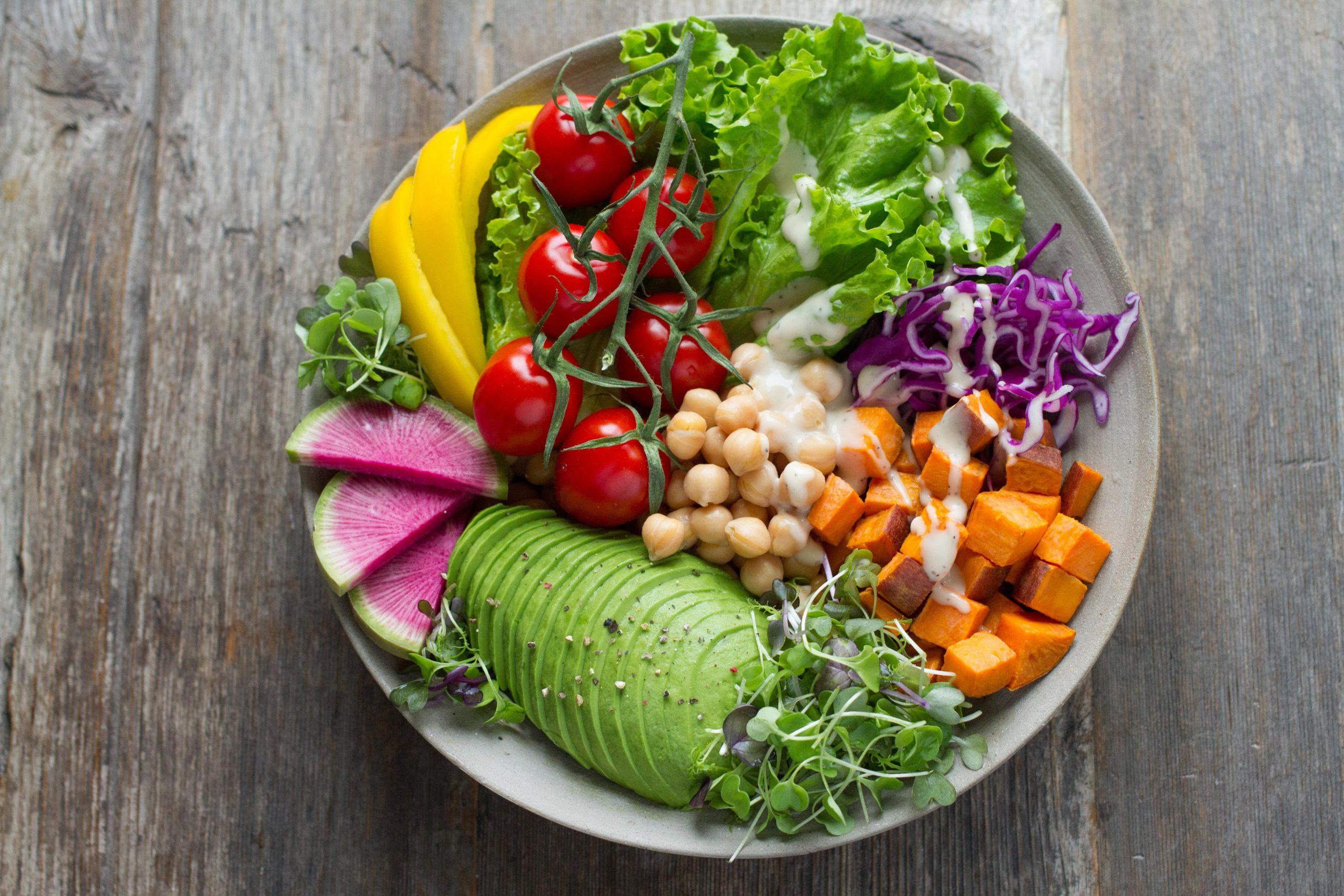 bli vegetarian gå ner i vikt
